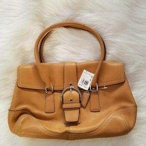 COACH Camel Shoulder Bag